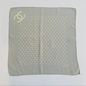 Vintage CHANEL square scarf